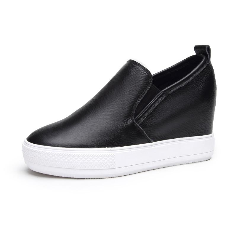Giày slip-on nữ đế bánh mì Acesc