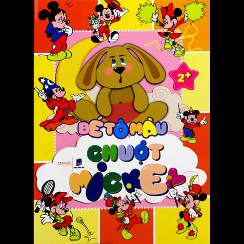 Bé tô màu chuột Mickey