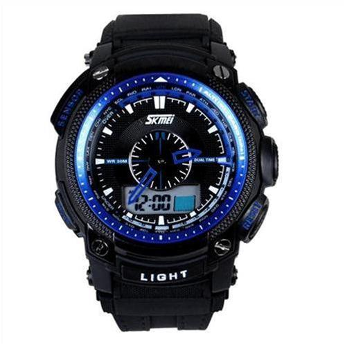 Đồng hồ điện tử nam LED Skmei SK-0910 dây nhựa