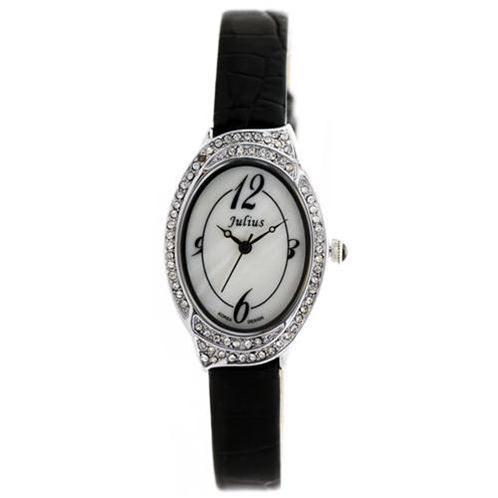 Đồng hồ nữ Julius JA620 dây đeo da thời trang