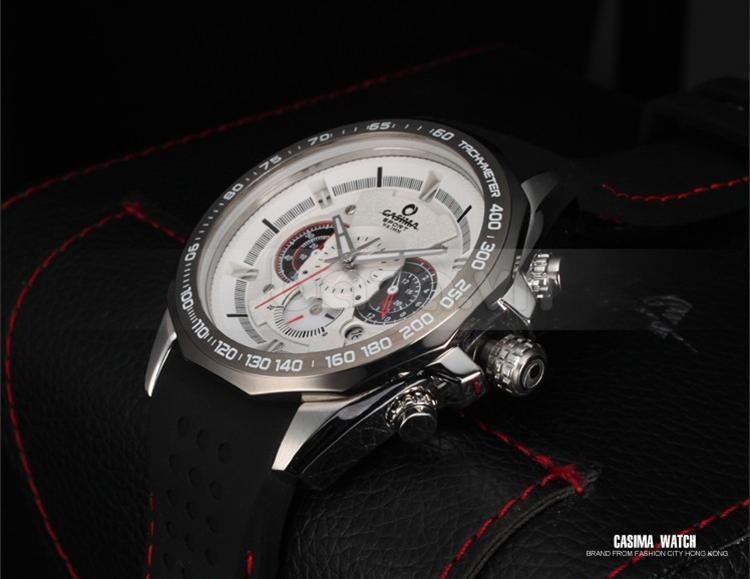 Đồng hồ nam Casima ST8206 mặt kính khoáng chống xước